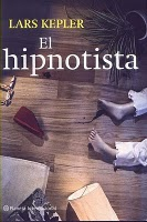Portada de «El hipnotista» (Lars Kepler)